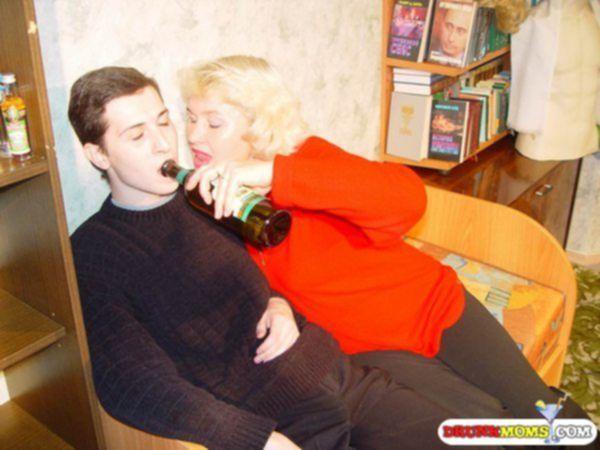 Пьяная мама